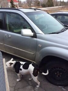 Nissan Xtrail SUV.