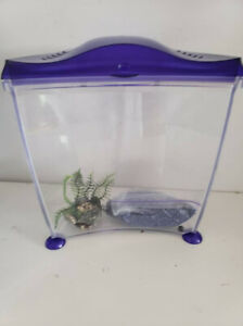Marina 2.65 US Gallons Acrylic FIsh Tank, Mint condition, gravel