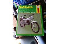 Yamaha TY 50/80/125/175 Haynes manual