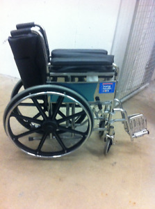 Manual Wheelchair, Transport Chair, Lightweight Rollator-Walker