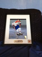 Jean Beliveau Montreal Canadiens signed and framed photo