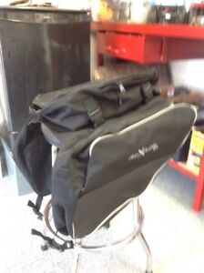 Snowmobile touring bags