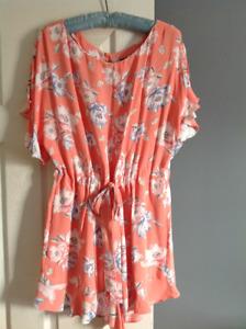 Brandnew  floweral print jumpsuit