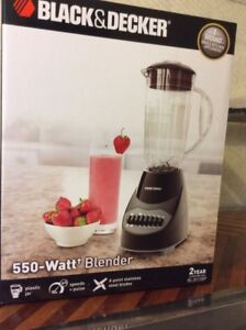 Blender 10 speed Black & Decker Mélangeur
