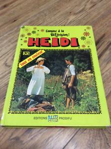 Livre Heidi No1 - Heidi rencontre son grand-père