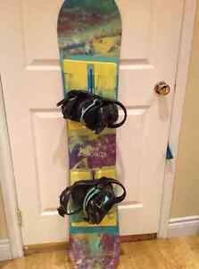 Snowboard/ Bindings and boots