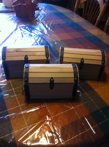 Hand Made wooden chests