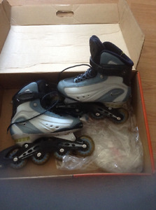 Patin alligné , rollerblade