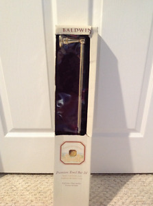 "Towel Bar 24"" Baldwin Brass Brand New"
