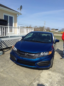 2015 Honda Civic LX Coupe (2 door)