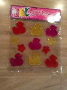 NEW GEL DECORATING DUCK SHAPES