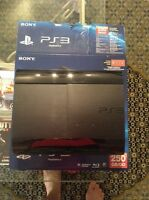 Sony PS3 with 2 Controllers and 6 great games!