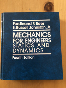 Mechanics for Engineers statics and dynamics 4th edition