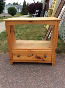 TV Stand - Solid Pine