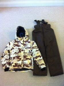 WINTER COAT JACKET WITH SNOW PANTS