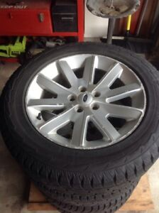 Winter tires and rims (Ford Flex)
