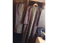 Brand new from Dubai silk suits 2 pieces dress & trousers size: M/L £30 free post
