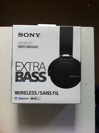 Brand new Sony wireless headphones