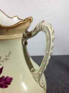 Vintage Carton Ware W&R Stoke On Trent chamber pitcher Cambridge Kitchener Area image 6