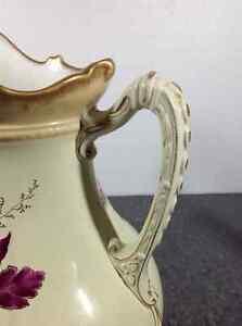 Vintage Carton Ware W&R Stoke On Trent chamber pitcher Cambridge Kitchener Area image 6