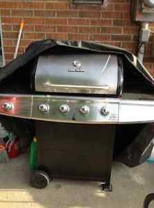 Propane bbq with element