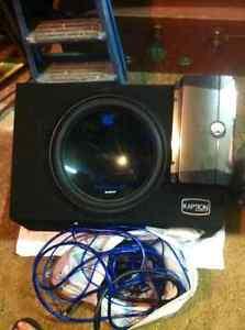 """15"""" Planet audio car audio subwoofer/box + Memphis M-class"""
