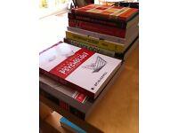 University level Sociology and Psychology books