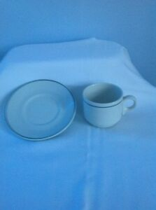 61 black trimmed china saucers  Peterborough Peterborough Area image 2