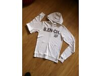 Bench white hoody. Size small - users once only.