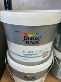 Dulux Trade Supermatt White Paint