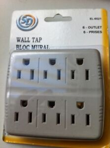6 outlet wall tap bloc mural - NEW