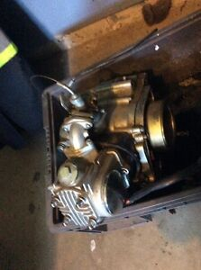 125cc pit bike engine and carb