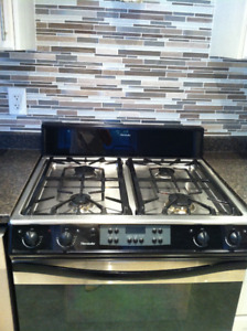 Thermador gas stove with electric oven for sale.  Used.