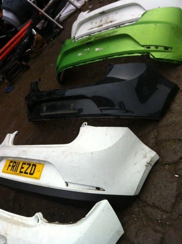 Seat Ibiza rear bumper 2008-2014 £15