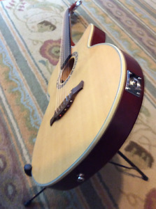Rare Crafter slim body acoustic/electric guitar