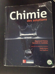 Chimie des solutions - Chang
