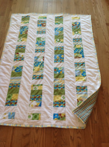 Handmade crib quilt selling at cost