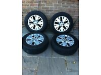Vw transporter t5 alloy wheels & tyres