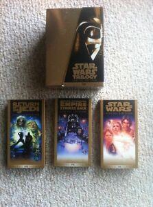 Star Wars vhs collector sets