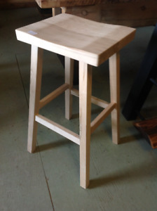 Mennonite Made Saddle Stools