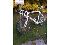 ROAD BIKE 58cm CARBON FORKS DAWES SPORTIF ONLY £250 NO OFFERS
