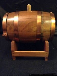 Wine Barrel with Stand