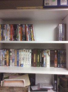 DVD's and MOVIES - THE OFFICE, CORNER GAS, JOHN CANDY - $5 EACH