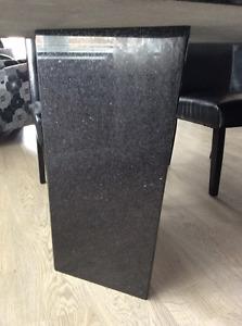 Table de cuisine en granite