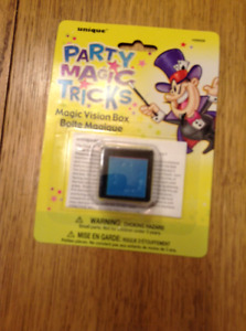 PARTY MAGIC TRICKS MAGIC VISION BOX