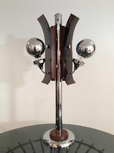 1970 Vintage Table Lamp-Lampe de Table Retro 1970