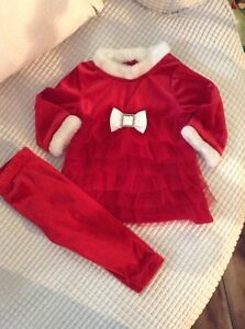 Baby girl Christmas outfit! 12 months