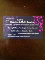 Kim's cleaning & multi service