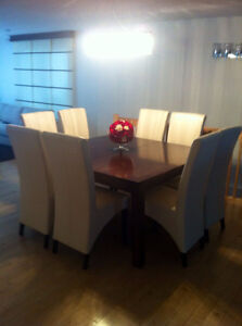 Foresta Dining table and chairs