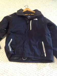 Mens North Face Beautiful Jacket with removable hood size L